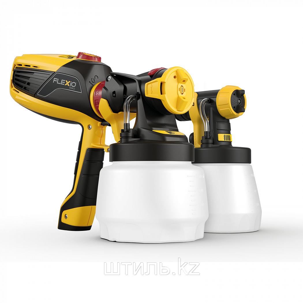 Универсальный электрический краскопульт HVLP Wagner Flexio W590
