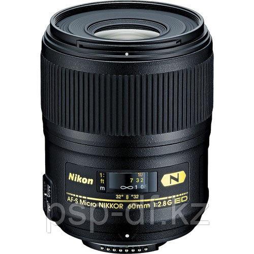 Объектив Nikon AF-S Micro-NIKKOR 60mm f/2.8G ED