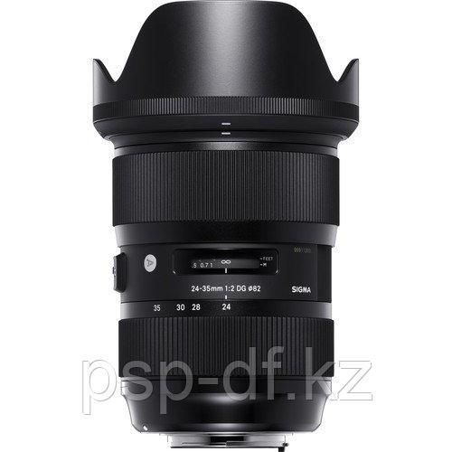 Объектив Sigma 24-35mm f/2 DG HSM Art для Canon