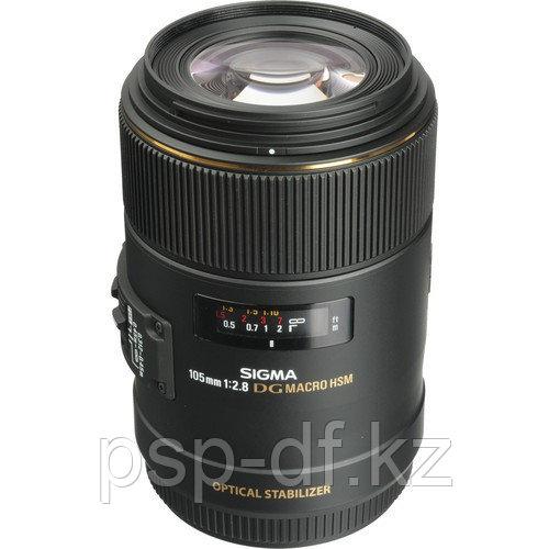 Объектив Sigma 105mm f/2.8 EX DG OS HSM Macro для Canon