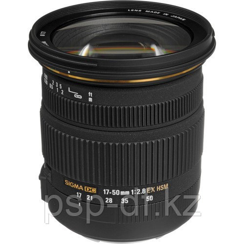 Объектив Sigma 17-50mm f/2.8 EX DC OS HSM для Canon