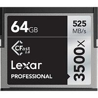 Карта памяти Lexar 64GB Professional 3500x CFast 2.0