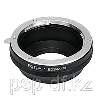 Переходник Canon EOS EF lens на Micro 4/3