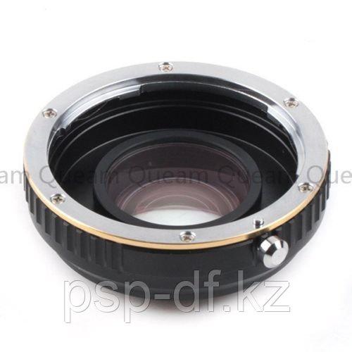 Переходник Speed Booster adapter для Nikon G mount Lens на Micro 4/3