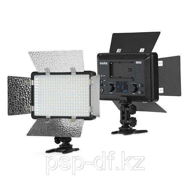 Осветитель светодиодный накамерный с функцией вспышки Godox LF308Bi