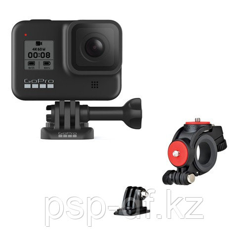Экшн камера GoPro HERO8 Black + Велосипедный держатель Joby Action Bike Mount