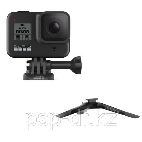 Экшн камера GoPro HERO8 Black + Штатив Joby Micro Hybrid GP 800