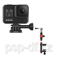 Экшн камера GoPro HERO8 Black + Держатель-струбцина Joby Action Clamp & Locking Arm