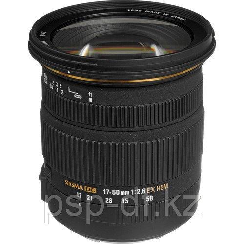 Объектив Sigma 17-50mm f/2.8 EX DC OS HSM для Nikon