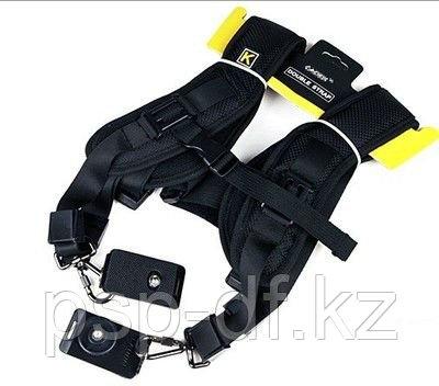 Плечевой ремень  Professional Double Shoulder Belt Strap for 2 cameras SLR DSLR