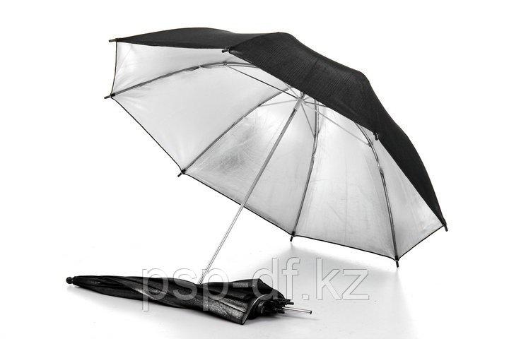 Зонт универсальный серебро 100см