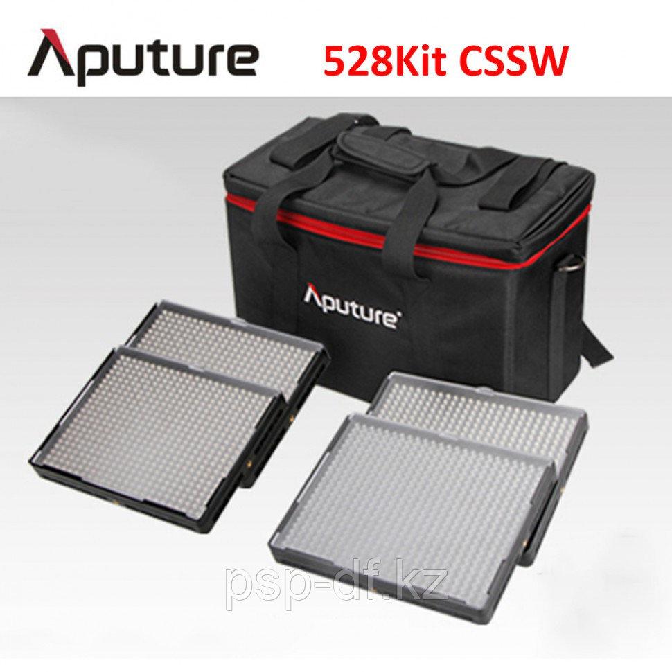 Комплект светодиодных осветителей Aputure Amaran 528KIT CSSW