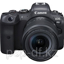 Фотоаппарат Canon EOS R6 kit RF 24-105mm f/4-7.1 IS STM