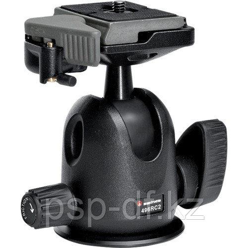 Голова для штатива Manfrotto 496 Compact Ball Head с RC2 Kit