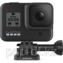 Экшн камера GoPro HERO8 Black + доп. аккумулятор + GoPro Head Strap + QuickClip