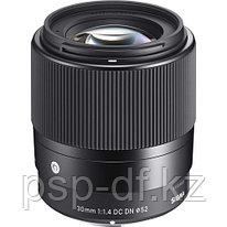 Объектив Sigma 30mm f/1.4 DC DN Contemporary для Sony E