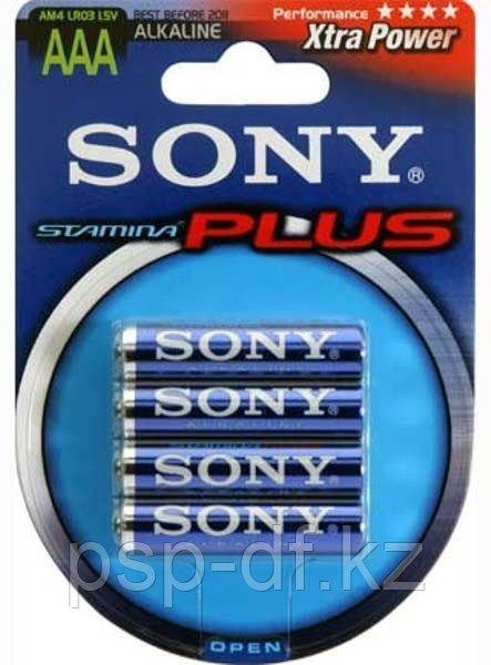Батарейка Sony Plus AAA 1.5V 4шт.