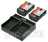 Jupio Kit: 2x Battery DMW -BLF19E + USB Dual Charger для Panasonic