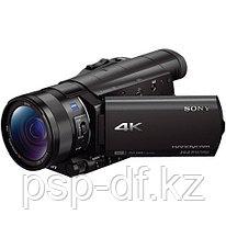Видеокамера Sony FDR-AX100 4K + аккумулятор Jupio NP-FV70