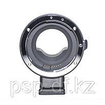 Переходник с электроной регулировкой диафрагммы EOS EF Lens на Micro 4/3 MFT
