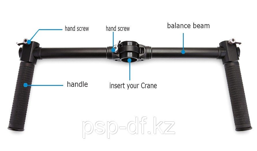 Ручки Zhiyun-Tech Dual handle Crane-EH002