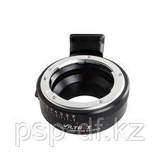Переходник с диафрагмой Viltrox NF-M43 (объективы Nikon на байонет m4/3)