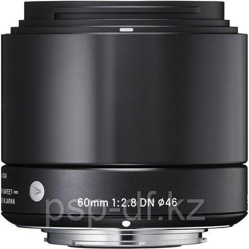 Объектив Sigma 60mm f/2.8 DN для MFT Mount black