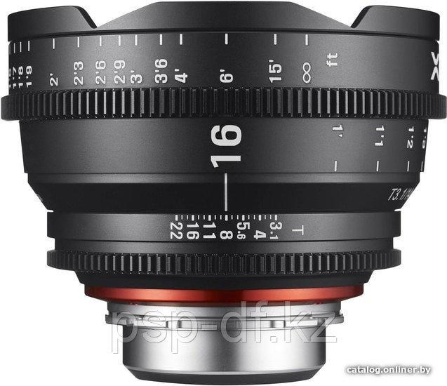 Объектив Samyang Xeen 16mm T2.6 Canon EF