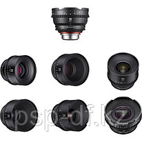 Объективы Samyang Xeen 14, 16, 24, 35, 50, 85 135mm Lens Kit Canon EF