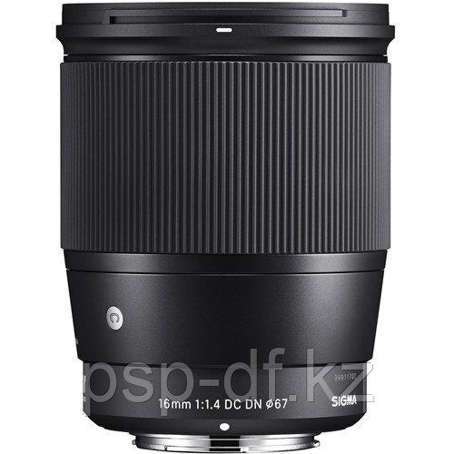 Объектив Sigma 16mm f/1.4 DC DN Contemporary Lens для Sony E