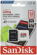 Карта памяти SanDisk  microSDXC UHS-I 32Gb 100MB/s + SD adapter