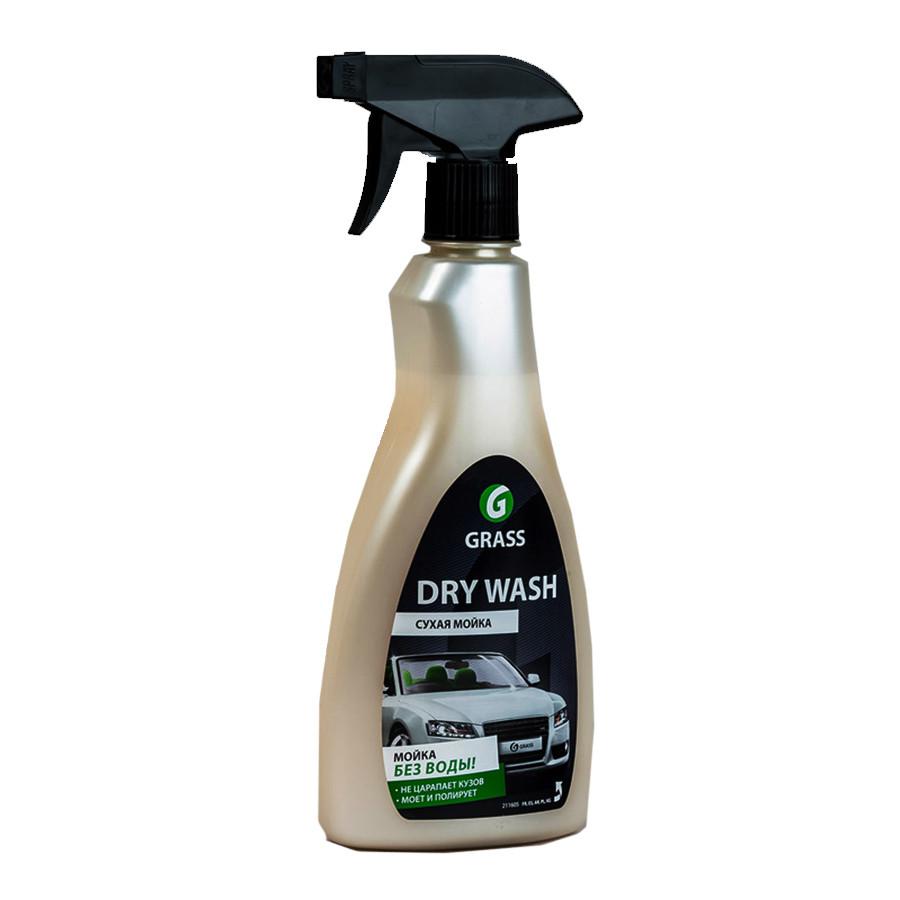 Очиститель-полироль ЛКП автомобиля Dry Wash