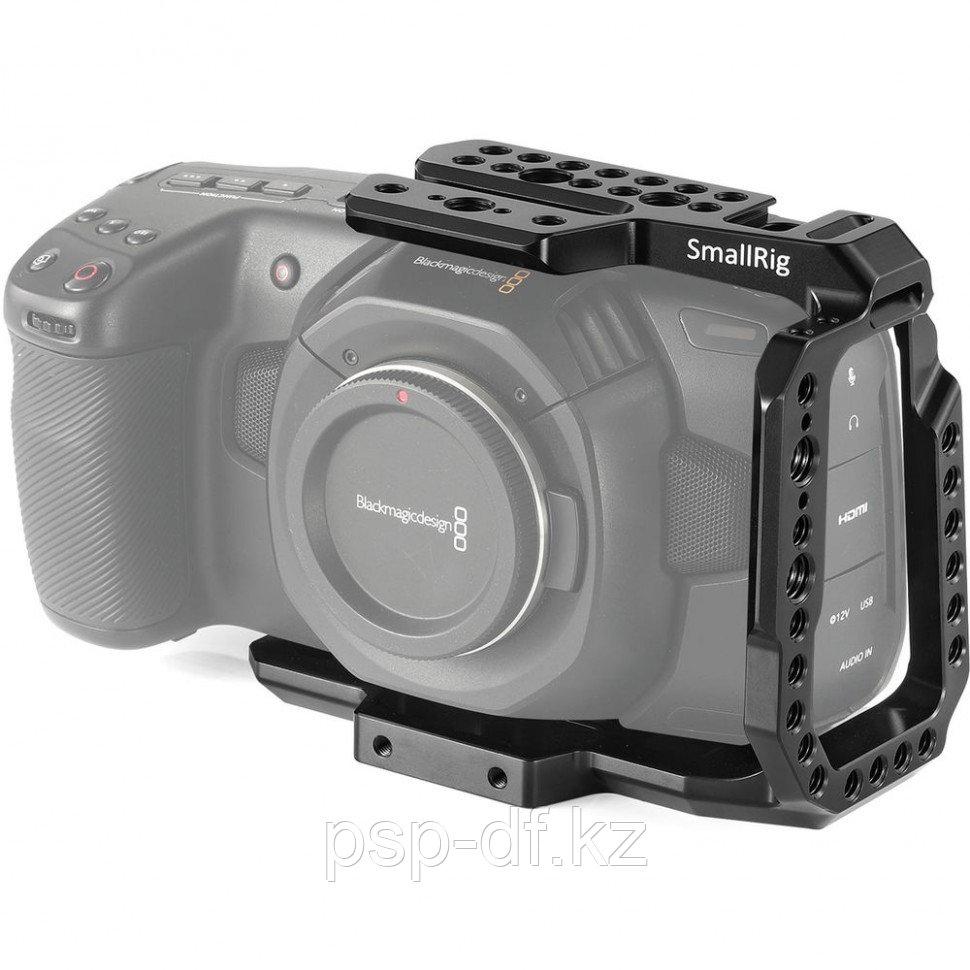 Клетка SmallRig 2254 для Blackmagic Pocket Camera 4K/6K + держатель SSD Samsung T5