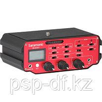 Микшер Saramonic SR-AX107 2-Channel XLR Audio Adapter with Isolation Transformer for DSLRs