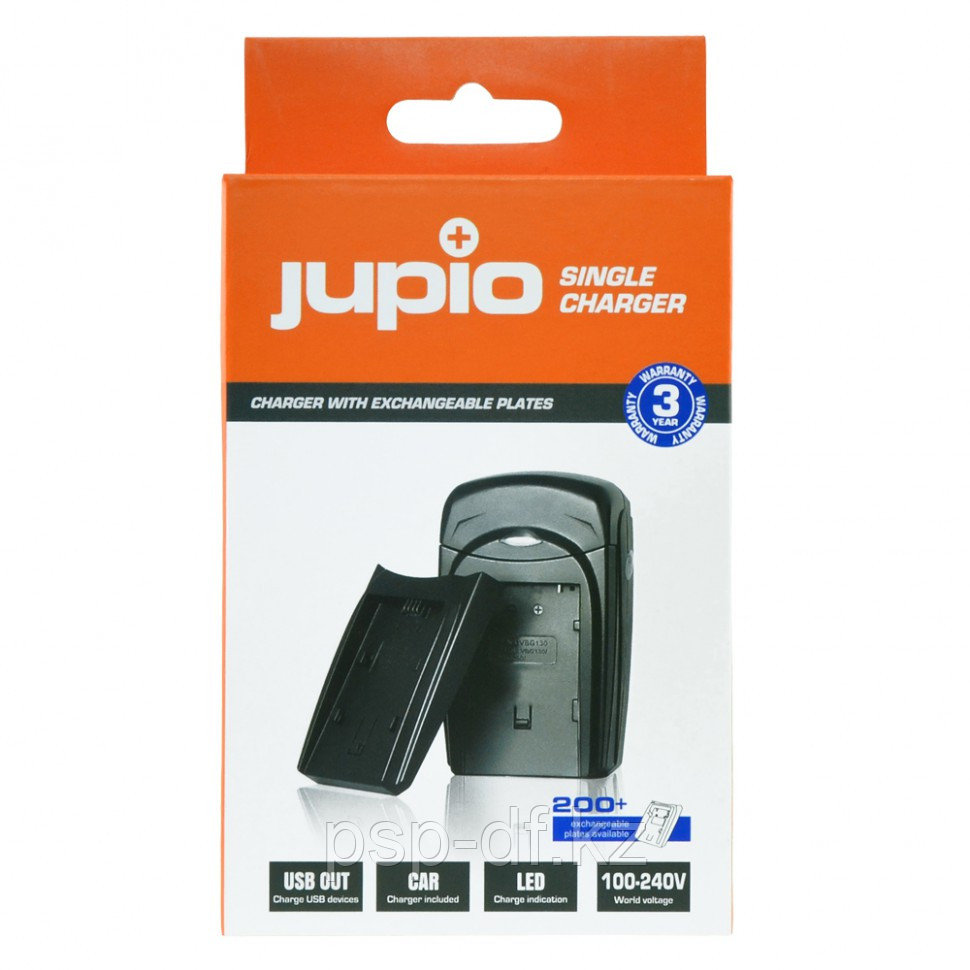 Зарядное устройство Jupio для Canon BP-808/BP-809/BP- 819/BP-827/BP-820/BP-828