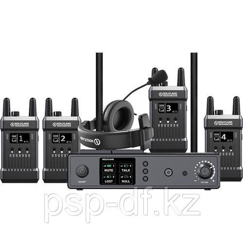 Беспроводной интерком Hollyland MARS T1000 Full Duplex Wireless Intercom System 4 абонента