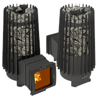 Печь для бани и сауны Cometa 180 Vega Window Max Grill`D
