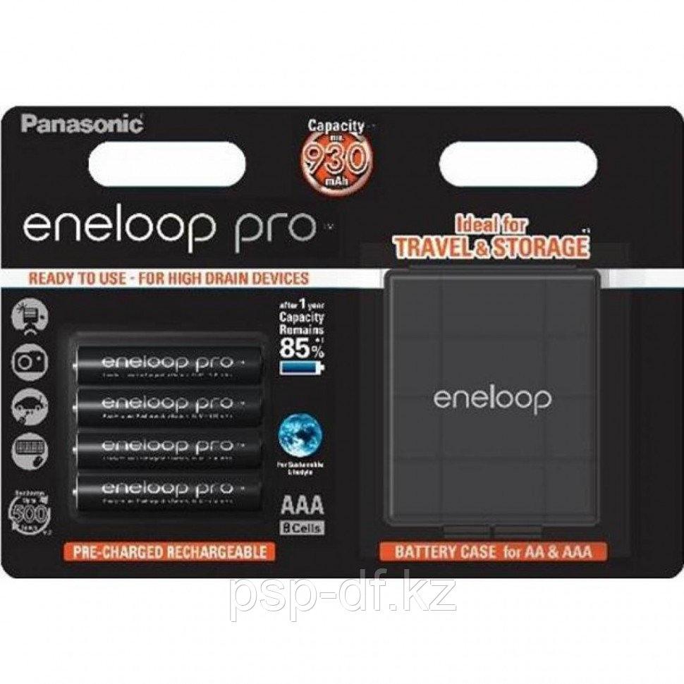 Аккумуляторы Panasonic Eneloop Pro AAA 930mAh 4шт + Кейс