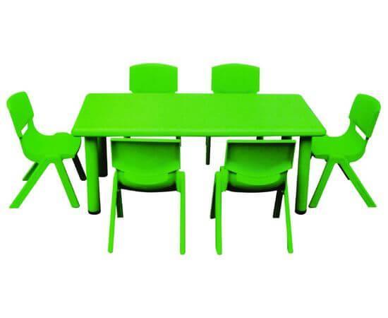 QIANGCHI Стол детский прямоугольной формы