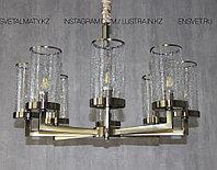 Люстра подвесная с регулировкой высоты на 8 стаканов, фото 1