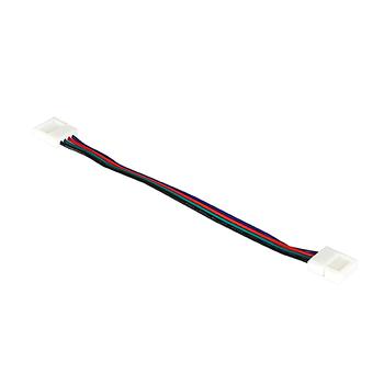 Соединитель для светодиодной ленты 12V 10мм RGB 2-х сторонний (не влагозащищенный MNS-10mmBXB-4)