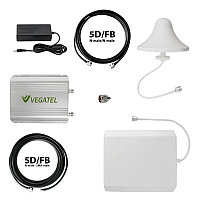 VEGATEL VT-1800/3G-kit (офис) - Комплект, 65 дБ/32 мВт, панельная + капля, 5D-FB 5м + 10м каб.сб.