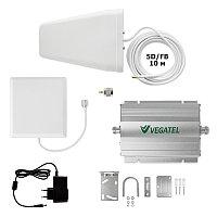 VEGATEL VT-900E/1800-kit (home, LED) - Комплект, 65 дБ/32 мВт, ручн. и авт. регулировка, ant-8Y + Pi ант.,