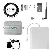 VEGATEL VT-900E/3G-kit - Комплект, 65 дБ/32 мВт, 5D-FB 10м, панельная + штыревая ант.