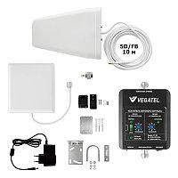VEGATEL VT-3G-kit (дом) (LED) - Комплект, 60 дБ/20 мВт, корпус со шкалой, ant-8Y + Pi ант., 5D-FB 10м