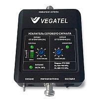 VEGATEL VT2-900E (LED) - Репитер, 70 дБ/100 мВт, новый черный корпус со шкалой