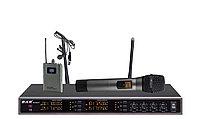 BKR KX-D3914 - Микрофонная радиосистема, ручной и петличный