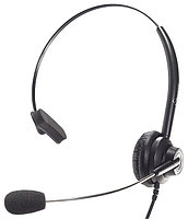 Accutone TM310 DC25 - Гарнитура для call-центра с одним наушником, разъем 2.5 мм