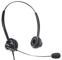 Accutone TB310 QD - Гарнитура для call-центра с двумя наушниками, микрофоном с шумоподавлением