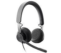 Logitech Zone Wired MS Teams Headset [981-000875] - Проводная бизнес-гарнитура Zone Wired с сертификацией